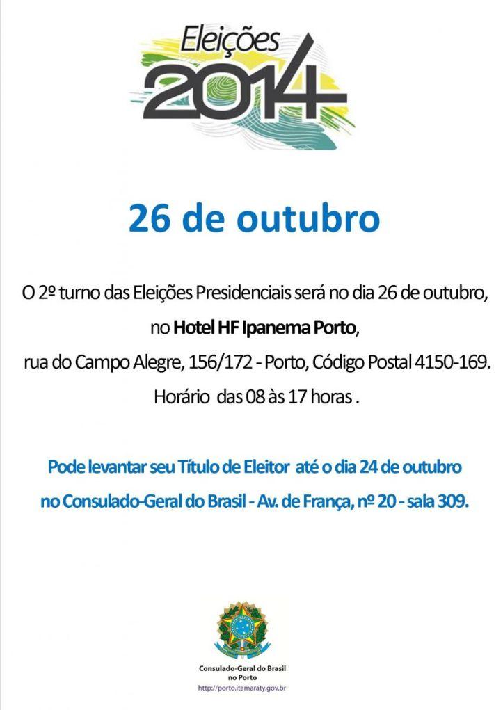 cartaz eleitoral 2