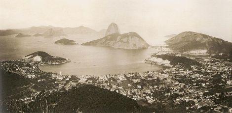 O Rio de Janeiro em 1889.